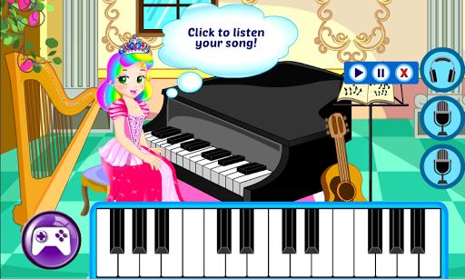 Piano Game - Princess Games