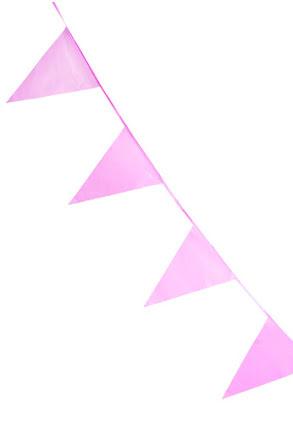 Flaggirlang, rosa