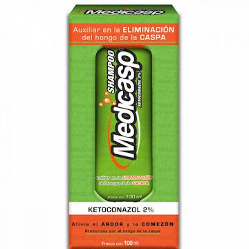 Shampoo Capilar Medicasp Anticaspa Ketoconazol 100 ML