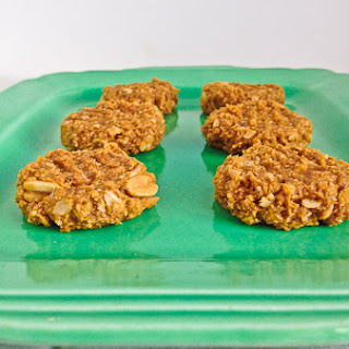 Sweet Potato Peanut Butter Oatmeal Cookies