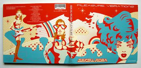 Photo: CD design & illustration for Seksuroba.
