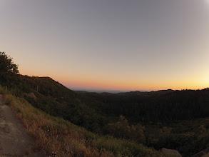 Photo: Sunset at Sunrise Highway, Pine Valley