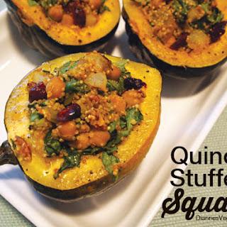 Quinoa Stuffed Squash