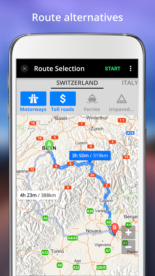 GPS Navigation- screenshot