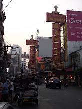 Photo: Kinai negyed, Bangkok