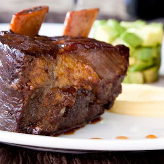 Slow-Cooked Beef Short Ribs In Spiced Coffee Sauce