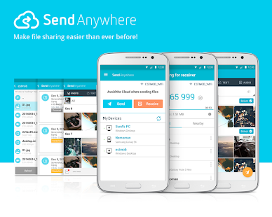 Send Anywhere (File Transfer) - screenshot thumbnail
