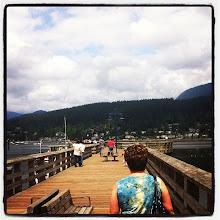 Photo: On the dock at Rocky Point Park #intercer #park #canada #ocean #water #dock #recreation #kayak #swim #boat #nature #instanature #vancouver #britishcolumbia #color #beautiful #bridge - via Instagram, http://instagr.am/p/NZWl4DpfoP/