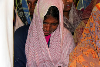 Photo: Many were weeping as they came to Jesus Christ for salvation.