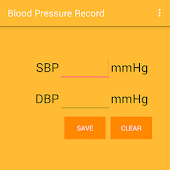 Blood pressure record (free)