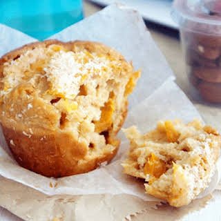 Apricot and Coconut Muffins.
