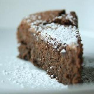 Garbanzo Bean Chocolate Cake (Gluten Free!).