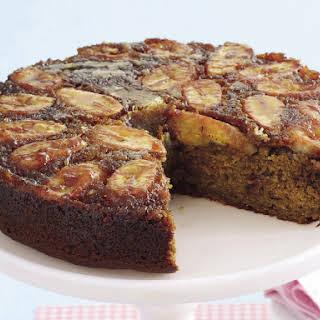 Banana Rum-Raisin Upside-Down Cake.