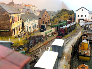 Photo: 008 Crackington Quay, a small west country port scene modelled in 016.5 .