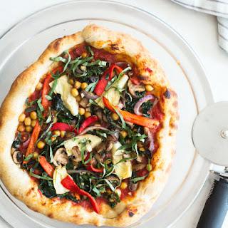 Very Veggie Vegan Pizza.