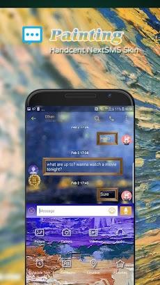 Painting Next SMS skinのおすすめ画像1