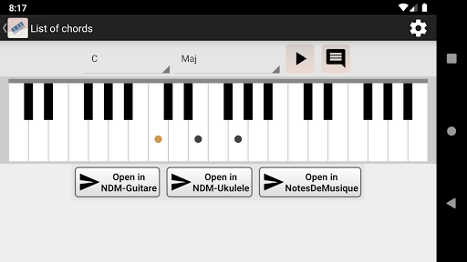 NDM - Piano (Learning to read musical notation)  screenshots 2