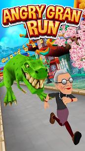 Angry Gran Run MOD APK (Unlimited Money) 1