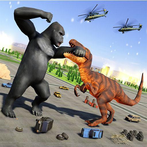 Baixar Monster Dinosaur Rampage: Angry King Kong Games para Android