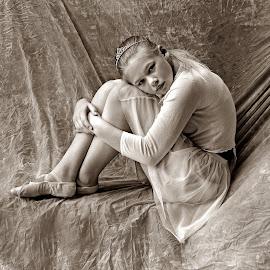 little ballerina by Lize Hill - Babies & Children Child Portraits