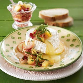 Gebackener Camembert mit Apfelchutney
