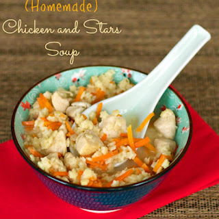 Homemade Chicken and Stars Soup in 20 Minutes