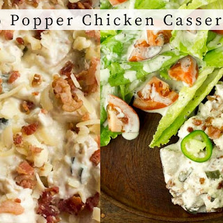 No Carb Chicken Casserole Recipes