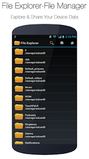 File Explorer a správce - náhled