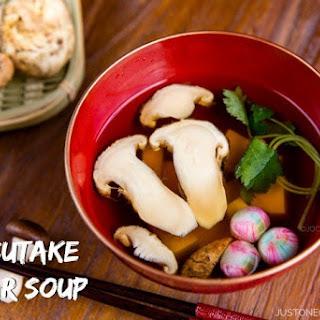 Matsutake Clear Soup (Suimono)
