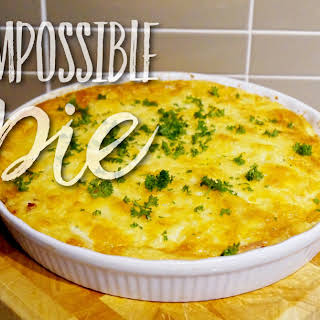 Impossible Pie – GLUTEN FREE.