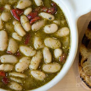 White Bean and Pesto Soup