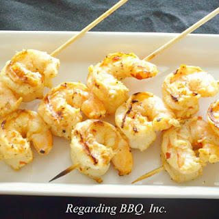 Grilled Garlic Butter Shrimp Recipe