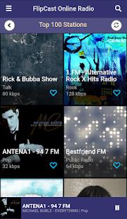 FlipCast Online FM Radio- screenshot thumbnail