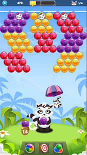 Download Bubble Raccoon New Bubble Shooter For PC Windows and Mac apk screenshot 2