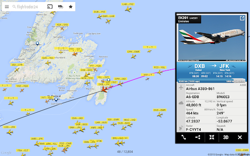 Flightradar24 - Flight Tracker Screenshot 9