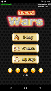 Reversi Wars - live online- screenshot thumbnail