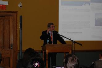 Photo: Conférence de M. Labeaume