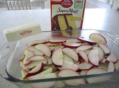 Fresh Apple Cake Layer Recipe