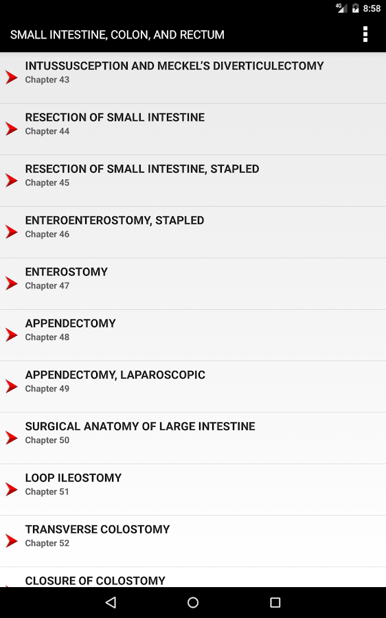 Zollinger's Atlas of Surgical Operations, 10/E- screenshot