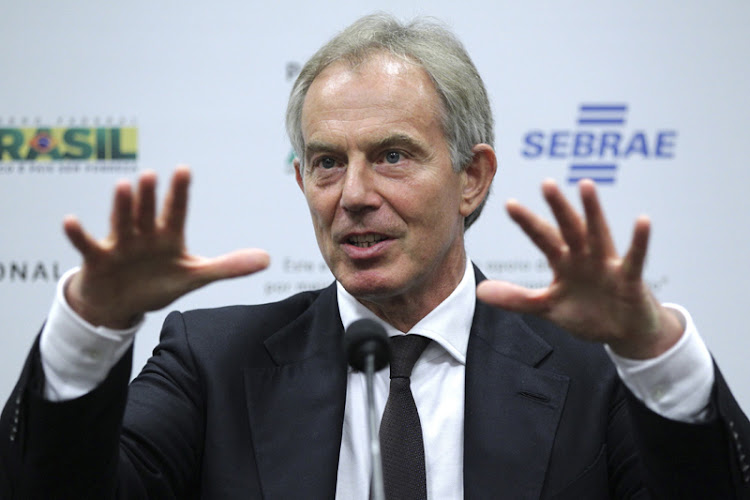 Former British prime minister Tony Blair. Picture: REUTERS
