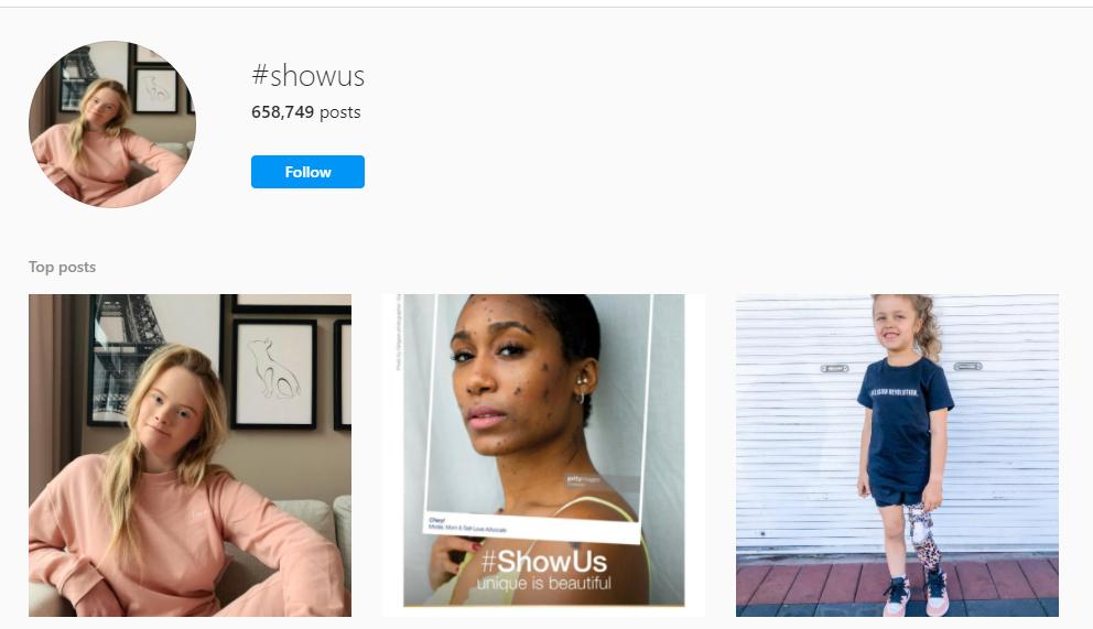 Instagram hashtag for dove