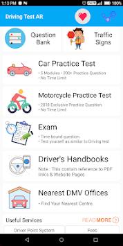 arkansas dmv drivers test hours