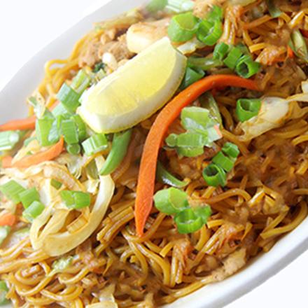 Vegan Pancit Canton Noodles