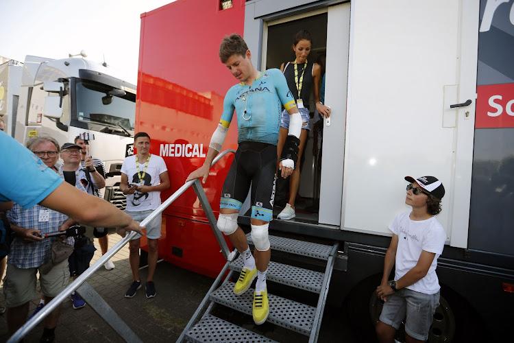 Tour de France: des nouvelles rassurantes pour le grand malheureux du jour