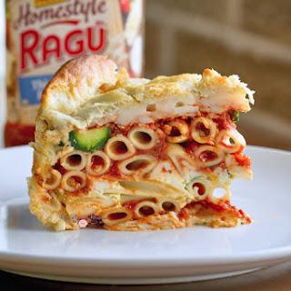 Italian Zucchini Rustica Pasta Pie