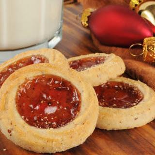 Jam Filled Cookies.