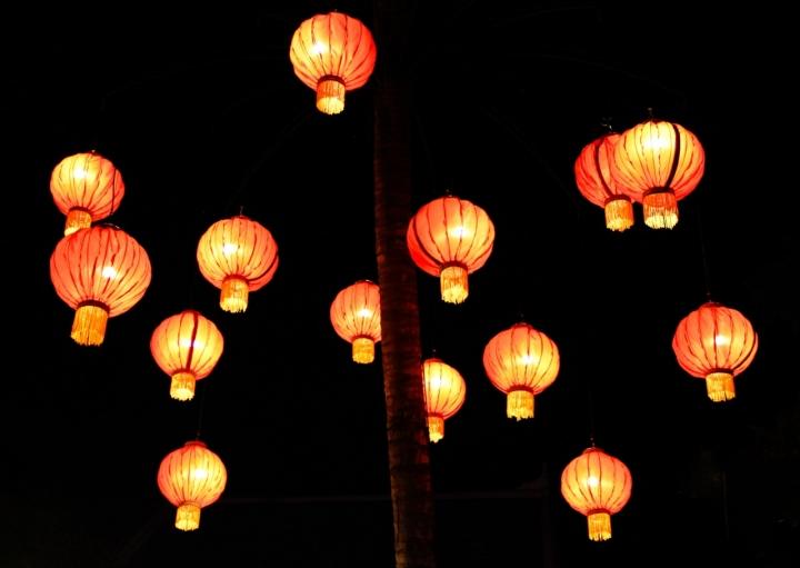 Lanterne fluttuanti di vlao