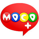 Moco+ - Chat, Meet People mobile app icon