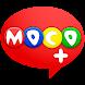 Moco+ - Chat, Meet People