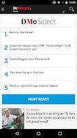Screenshot of DeMorgen.be Mobile